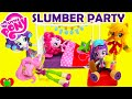 My Little Pony Slumber Party Playsets with Equestria Girls Minis Dolls