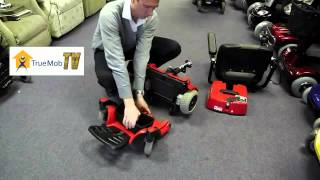 How to disassemble the Pride GoChair powerchair