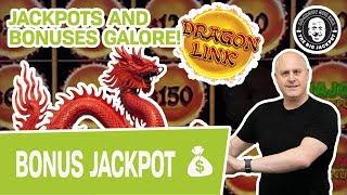 🌈 JACKPOTS & BONUSES GALORE! 🐲 It's a Dragon Link EXTRAVAGANZA