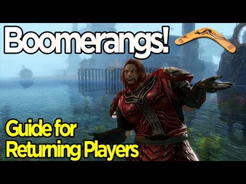 Guild Wars 2 Boomerangs - Guide for Returning Players
