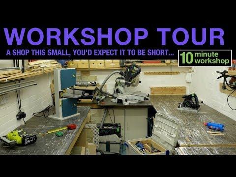 10 minute workshop, 20 minute tour...