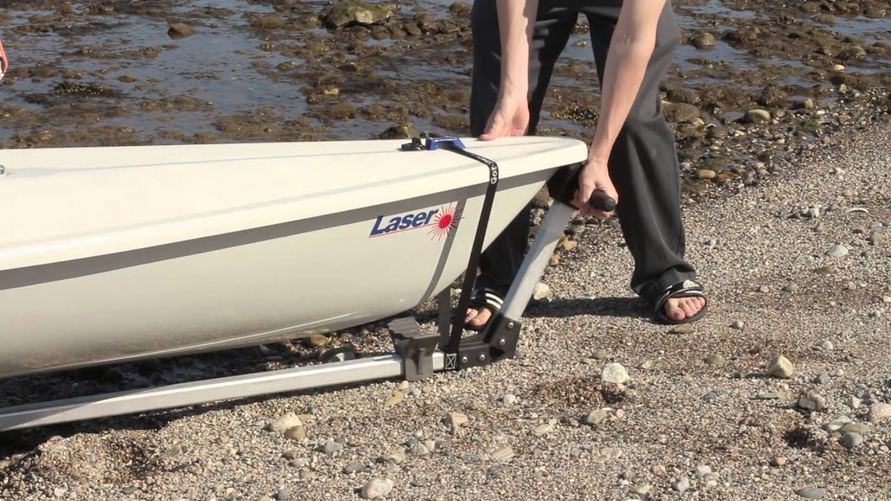 The Laser Sailboat Seitech Dynamic Dolly Strap Youtube