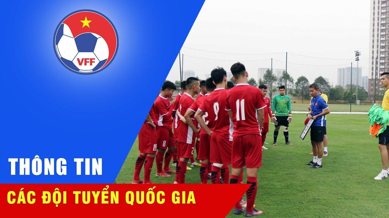 U19 Việt Nam tích cực tập luyện chuẩn bị cho Giải bóng đá quốc tế Suwon JS Cup 2018