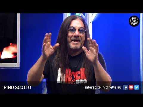 PINO SCOTTO 🔥 LIVE SU ROCK TV 🤘🏻📲 3 MAGGIO 2018
