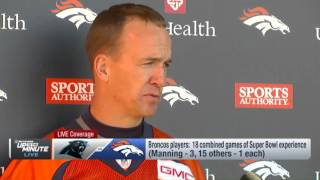 Peyton on 'Last Rodeo' Comment,