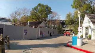 closed amity land jaws ride area at universal studios orlando florida feb 1st