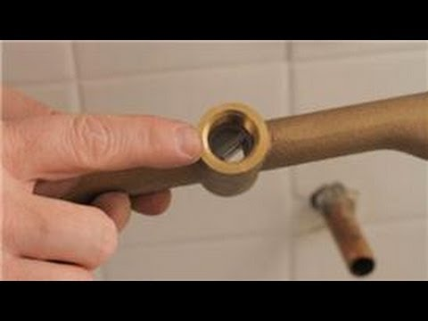 Shower Repair : How to Fix a Tub Faucet When Water Comes Out Both