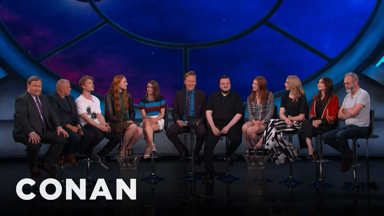 """Download #ConanCon: The Cast Of """"Game Of Thrones"""" Full Interview - CONAN on TBS"""