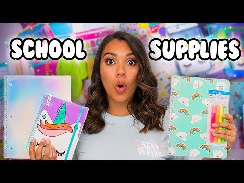 Must Have Back To School Supplies Haul 2018! Natalies Outlet