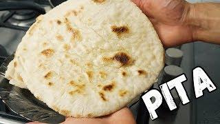 Jak zrobić chleb PITA - prosta grecka pita z patelni