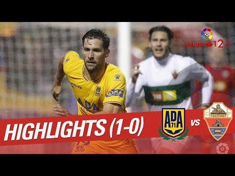 Highlights AD Alcorcón vs Elche CF (1-0)