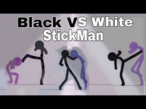 Stickman animation Black VS White ?