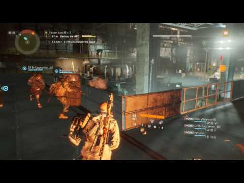 Tom Clancy's The Division Falcon Lost Heroic Tier 5