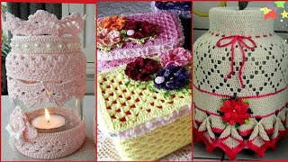 Beautiful Crochet Ideas/creative Crochet Ideas For Home Decoration