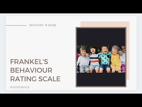 FRANKEL'S BEHAVIOUR RATING SCALE