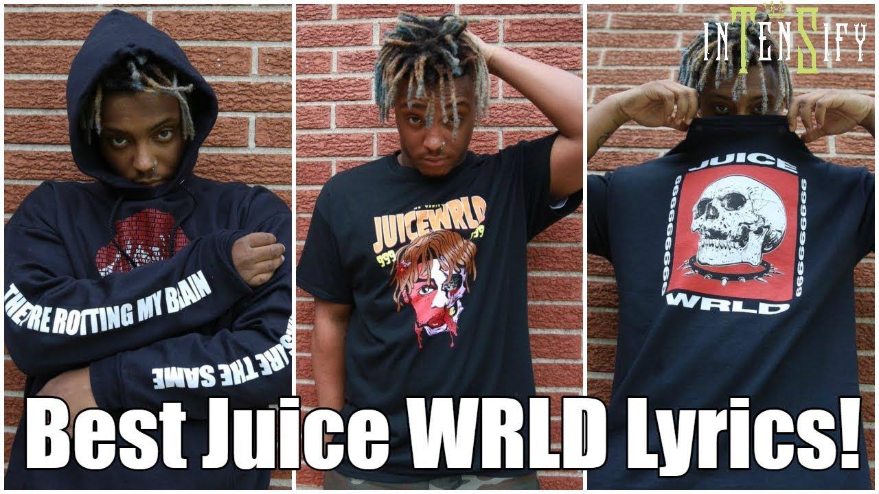 Top 10 Juice Wrld Lyrics Youtube