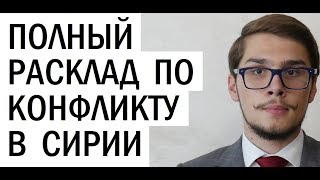 Всё про интересы главных игроков в Сирии. Андрей Видишенко