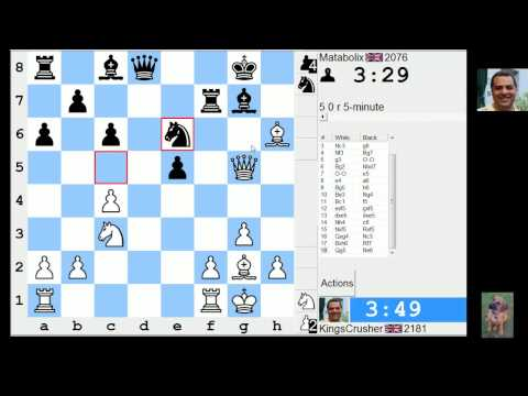 LIVE Blitz #2200 (Speed) Chess Game: White with King's Indian: fianchetto, classical variation, 8.e4