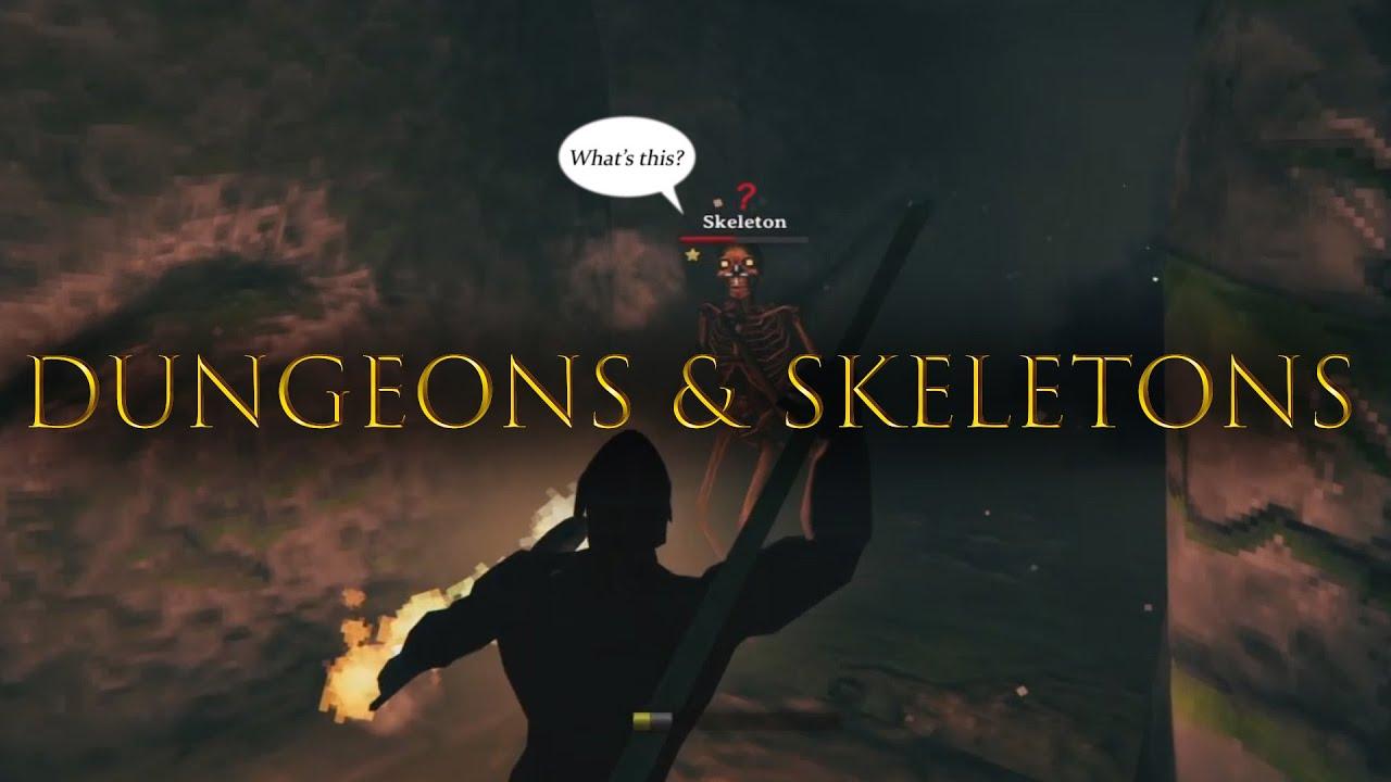 Dungeons & Skeletons - Valheim gameplay ep2