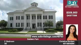 Orlando Custom Townhome In Beautiful Baldwin Park! Best Value!