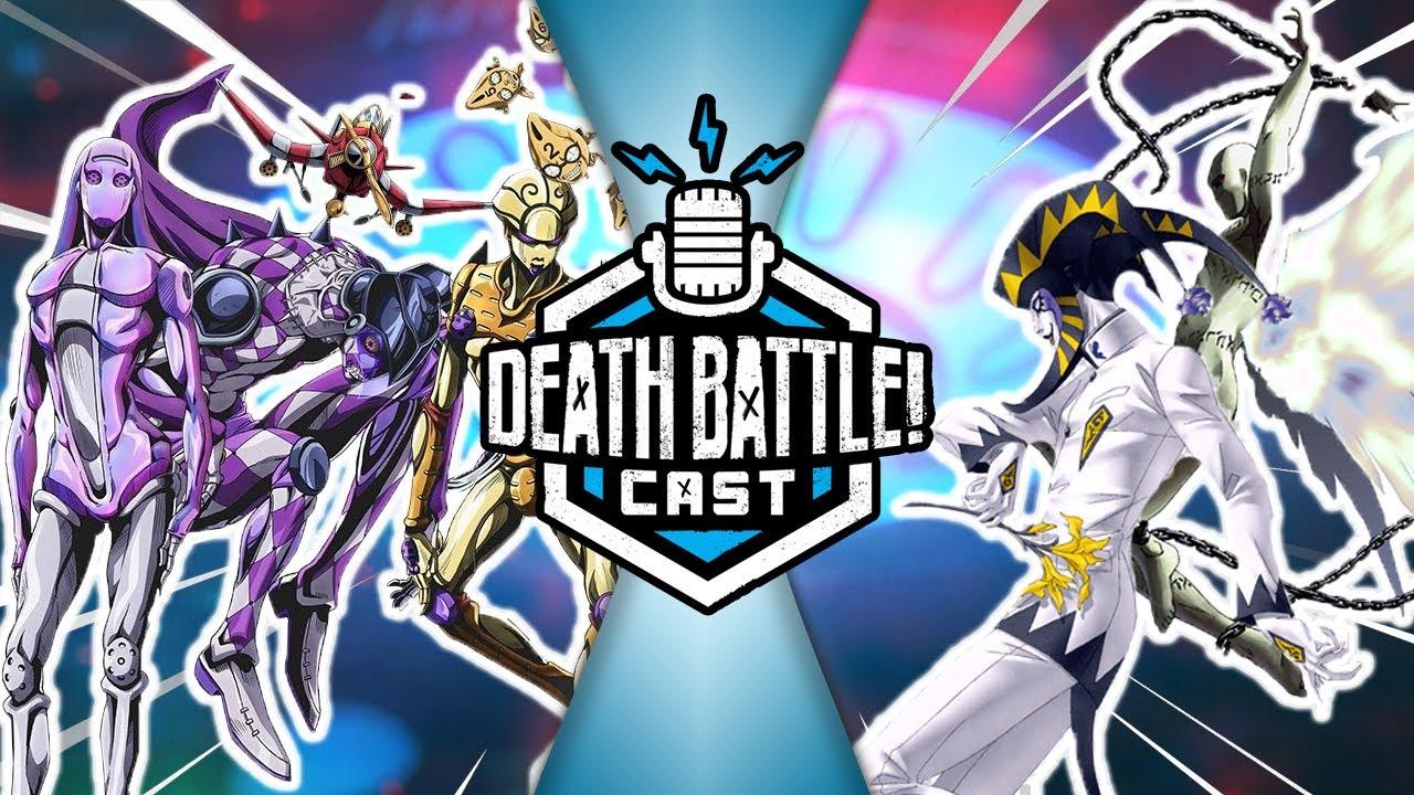 Personas VS JoJo's Stands   DEATH BATTLE Cast #232