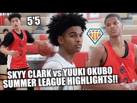 SKYY CLARK Vs 5'5 YUUKI OKUBO!! | Shaqir O'Neal & Crossroads TAKE ON Heritage Christian