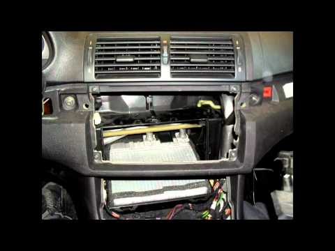 Como Cambiar Radio En Bmw E46 Por Madridaudio Com Youtube