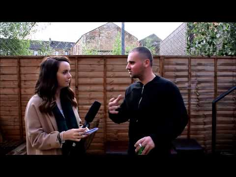 Lindsey Davidson interviews Jamie Coleman for Glasgow Creation Sessions Scotland.