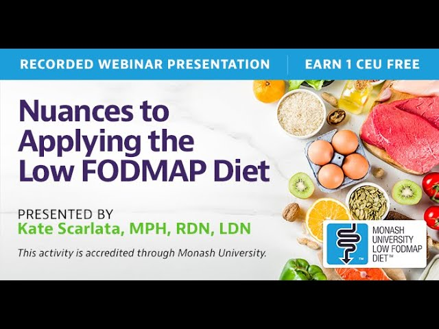 low fodmap diet exclusion
