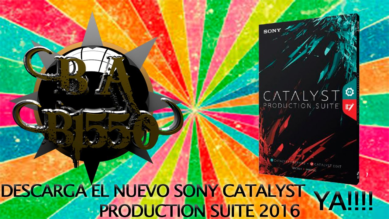 sony catalyst production suite 2016
