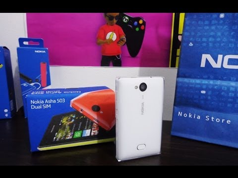 Unboxing Nokia Asha 503 [Português]