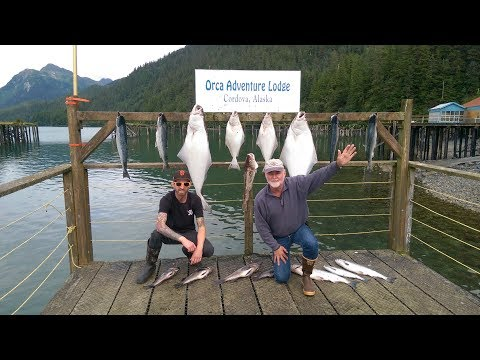 Fishing in Cordova Alaska 2017