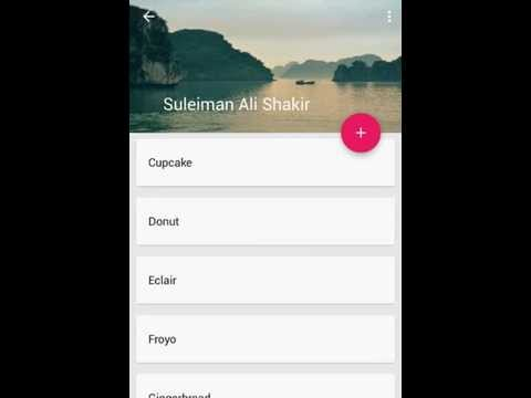 Toolbar Animation using Android Design Support Library