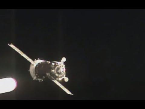 LIVE: Progress cargo spacecraft docking to ISS
