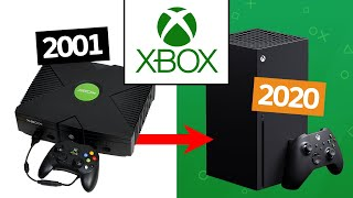 Evolution of Xbox Consoles 2001-2020