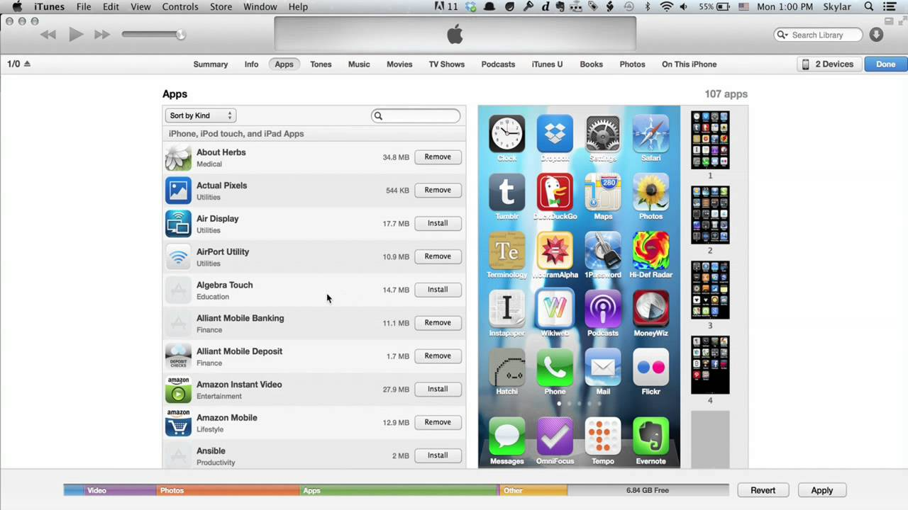 how to get itunes music onto ipod touch