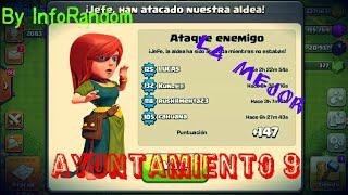 La Mejor Aldea Defensiva para Ayuntamiento 9 - By InfoRandom