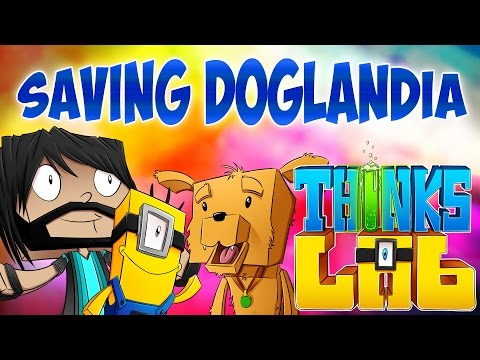 Minecraft Mods: Thinks Lab - Saving Doglandia! [Minecraft Roleplay]