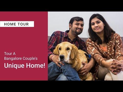 Livspace Interiors Bangalore Designs This Travel-Happy Couple's Home