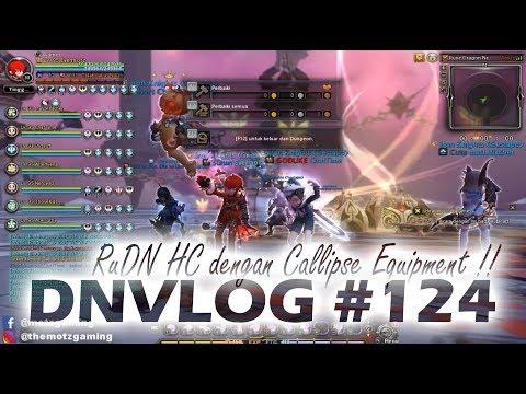 DNVLOG - RuDN HC Perdana Pakai Equip Heroic Callipse +20 !! (Dragon Nest Indonesia)