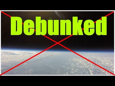 Flat earth's favorite Balloon footage debunked thumbnail