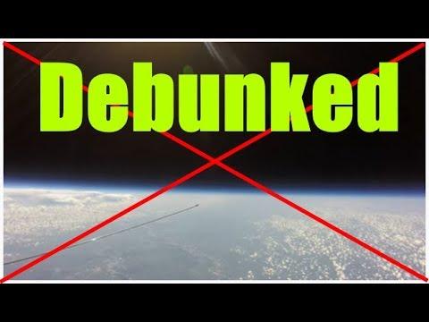 Flat earth's favorite Balloon footage debunked thumbnail