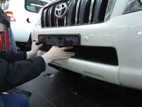 Установка Toyota LC 150 Prado