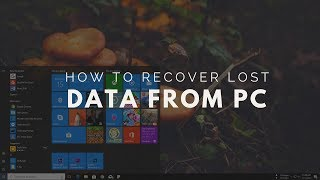 How To Recover Lost or Deleted File From PC 2017!