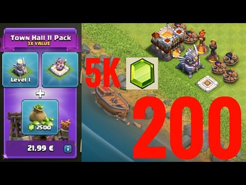 200 SUBSCRIBER SPECIAL! GEMMING SPREE! TH11 PACK!