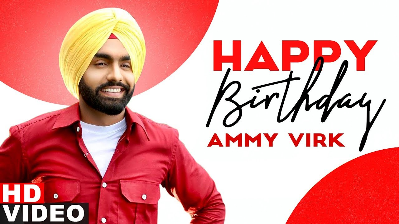 Birthday Wish | Ammy Virk | Birthday Special | Latest Punjabi Songs 2020 | Speed Records