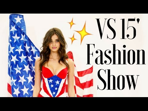 Taylor Hill in the Victorias Secret 2015 Fashion Show