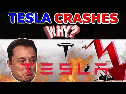 Is Tesla Stock Crashing ? When Is It Time To Buy Or Sell ? Why ? Tesla crash 2019
