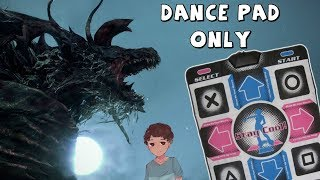 DanceBorne: Cleric Beast Beaten w/ DDR Dance Pad (1st Try)