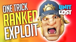 """Overwatch - """"One Trick"""" Ranked Exploit?"""